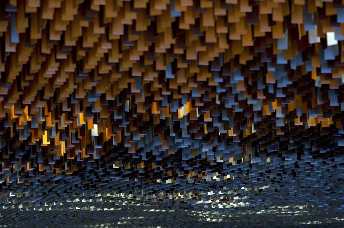 Plafonds des coursives, Philharmonie