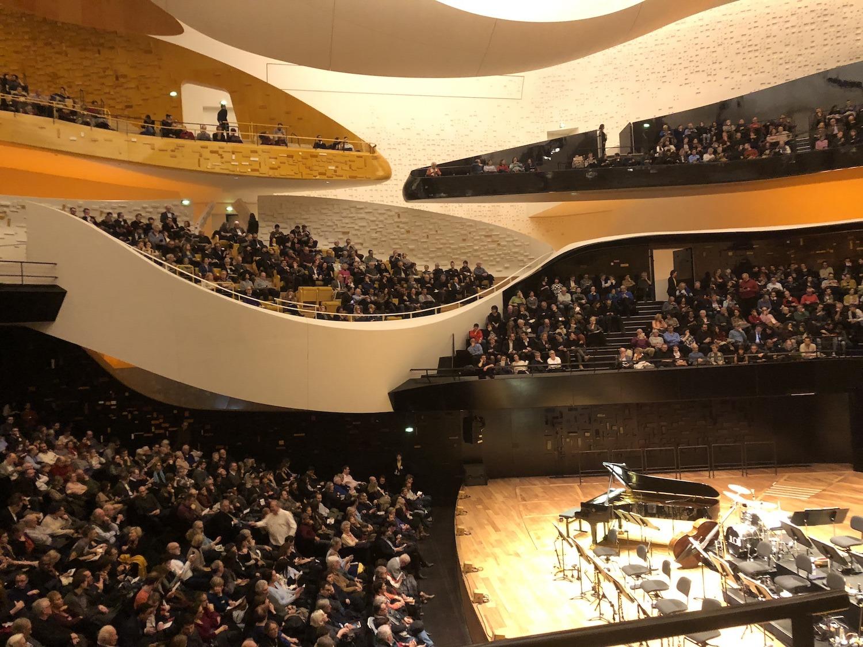 Philharmonie de Paris, le balcon de la reine