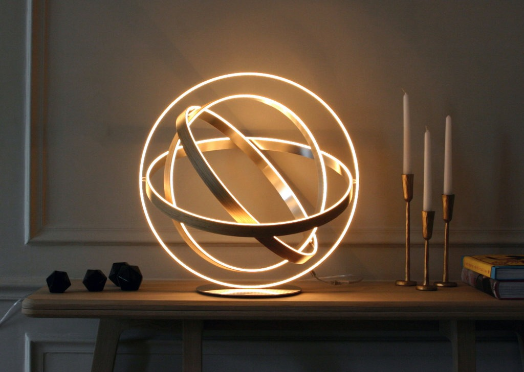 Luminaires high tech et design à la Française