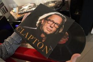 Le vinyle par Eric CLAPTON