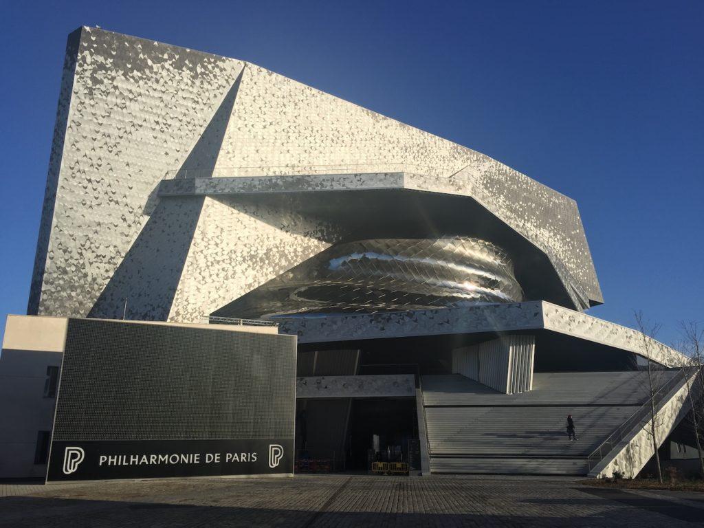Philharmonie de Paris extérieur