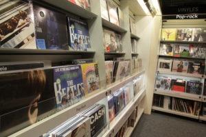 Les vinyles a la FNAC