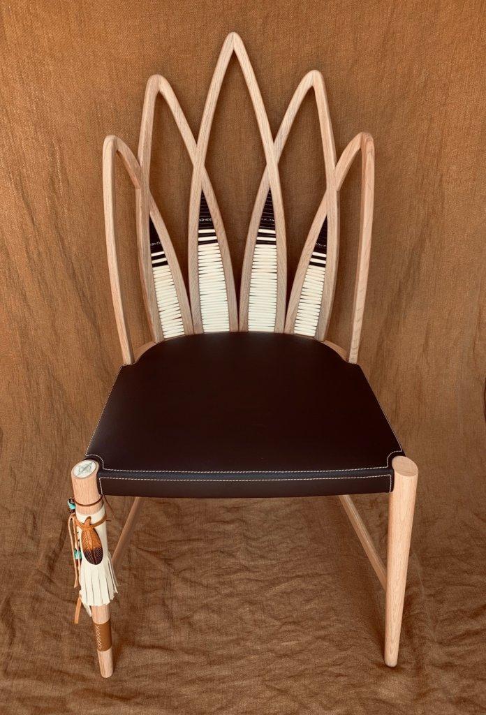 """Geronimo : Un concept de mobilier """"Tribal Urbain"""" : le fauteuil"""