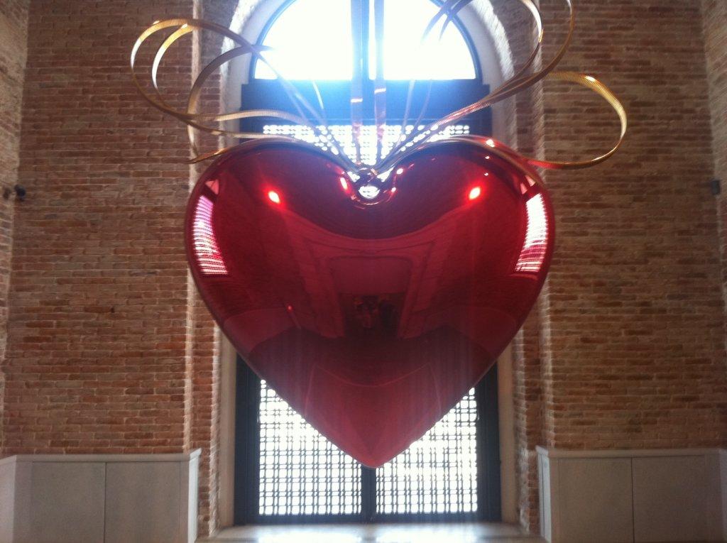 Jeff KOONS Heart