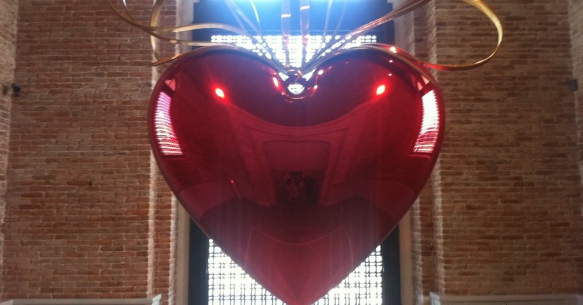 Jeff KOONS Heart