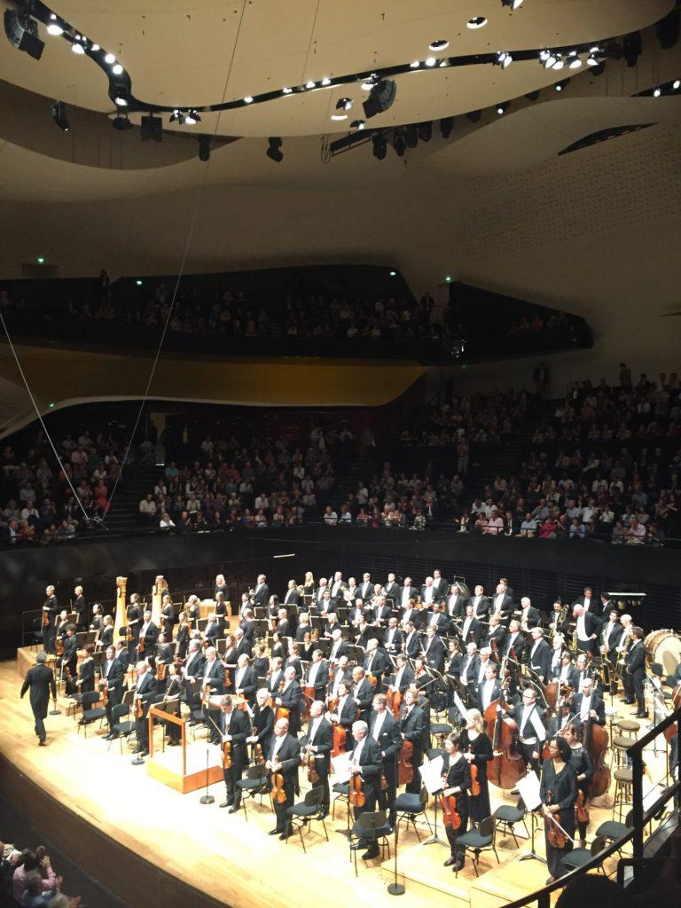Philharmonie de Paris, l'orchestre