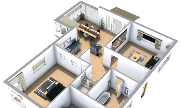 Intégration et Home technologies : Maquette