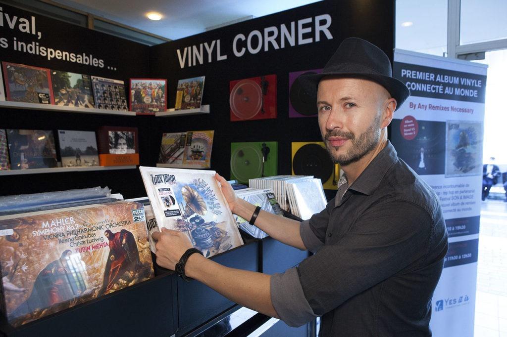Wax Taylor et le vinyle connecté au Festival Son et Image