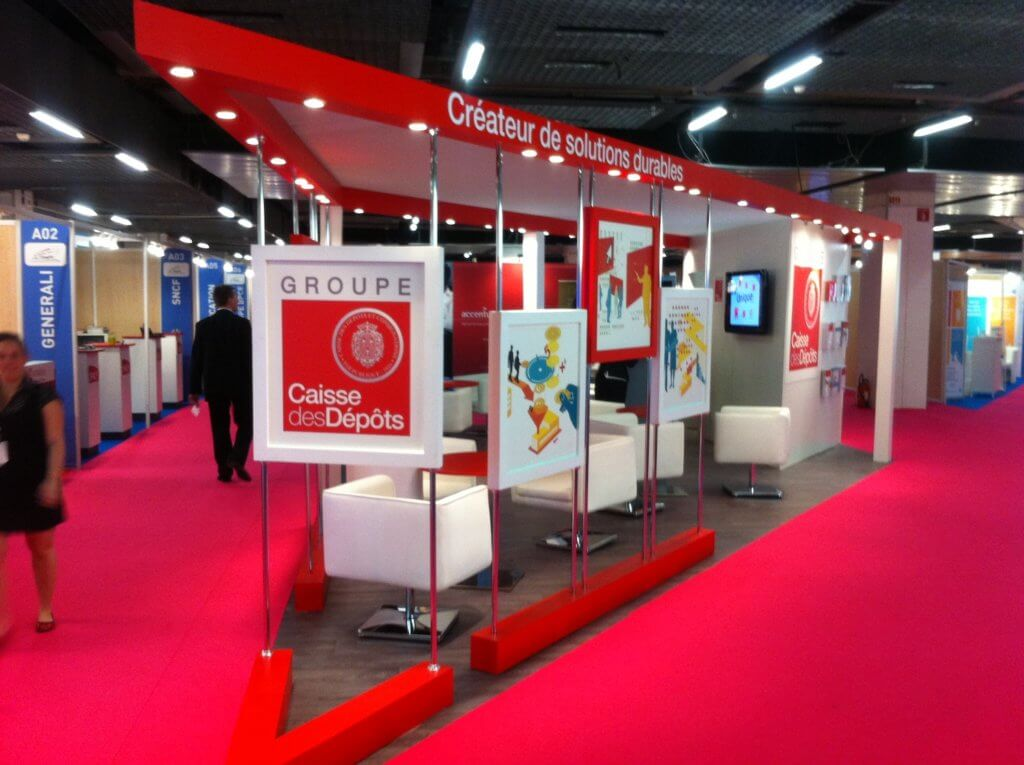 Circulatique stand en poupe