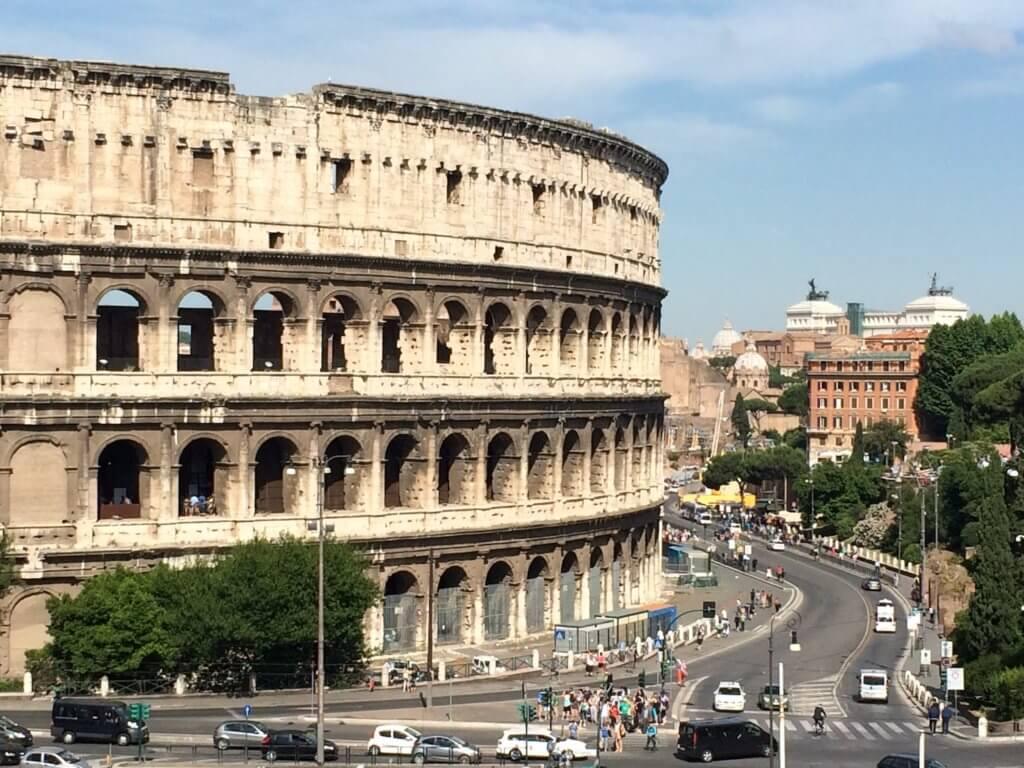 Le Colisée de Rome circulatique