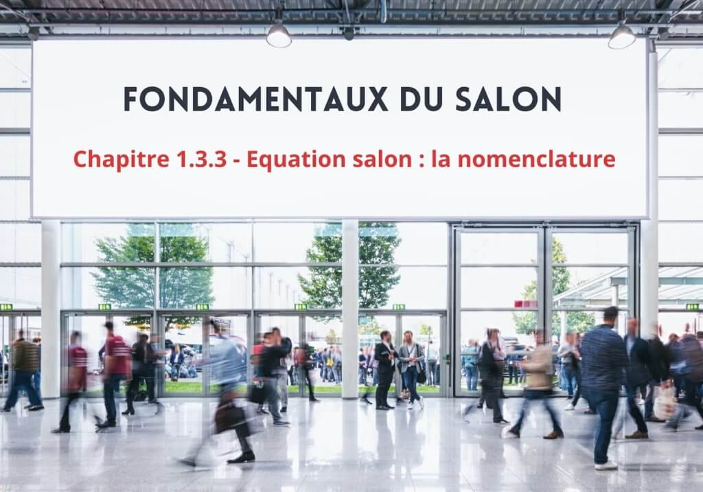 La nomenclature du salon