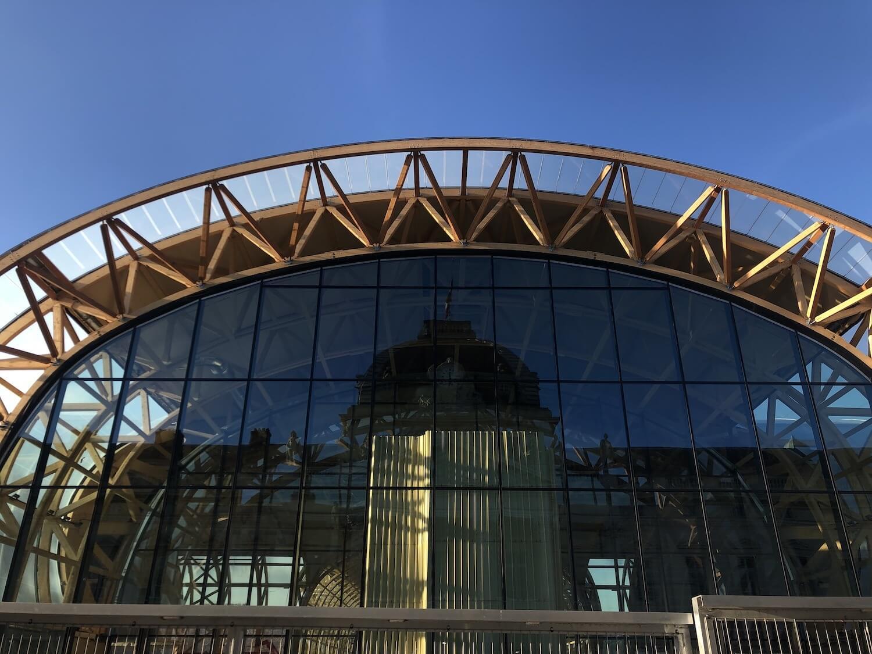 Façade Grand Palais éphémère