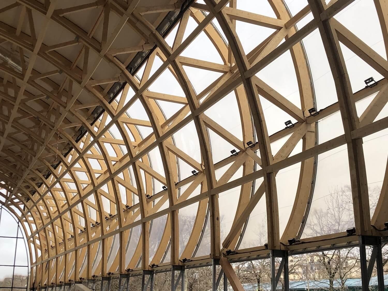 Arches bois grand palais éphémère